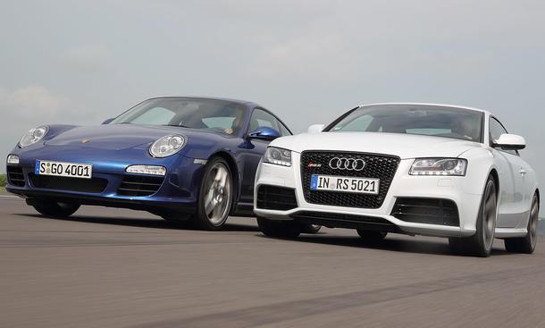 Der Porsche 911 ist eine sportliche Ikone, der Audi RS5 hat das Zeug, ihn zu stürzen