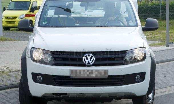 VW Amarok Single Cab 2011 erlkönig
