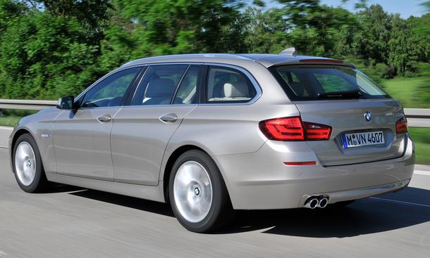 Der neue BMW 5er Touring mit Diesel-Motor im ersten Fahrbericht der AUTO ZEITUNG