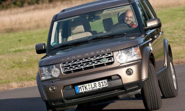 Mit Schwung kommt Land Rover durch den schwierigen Automarkt 2009