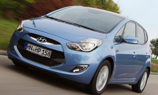 Erste Probefahrt im neuen Hyundai ix20 1.4