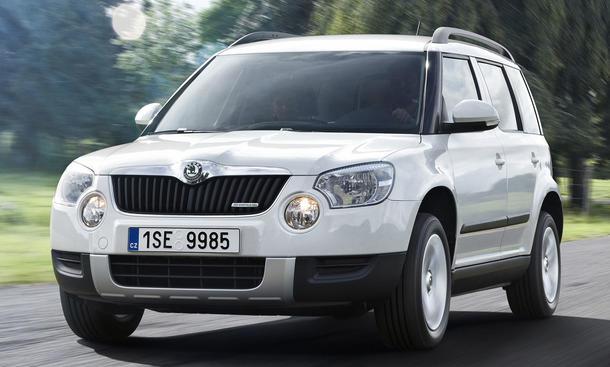 Erste Probefahrt im neuen Skoda Yeti 1.6 TDI Greenline 105 PS starken Kompakt-SUV von Skoda