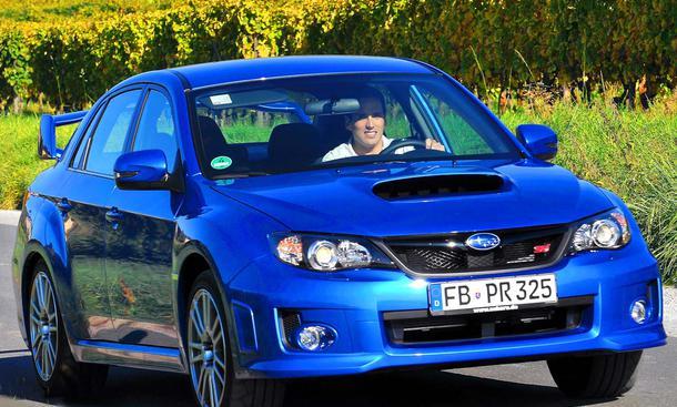Erste Probefahrt im neuen Subaru WRX STI dem Turbo-Allradler mit 300 PS