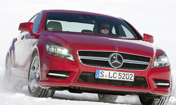 Mercedes CLS 350 CDI 4MATIC BlueEFFICIENCY im Fahrbericht der AUTO ZEITUNG
