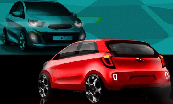 Der neue Kia Picanto hat auf dem Genfer Autosalon im März 2011 Premiere