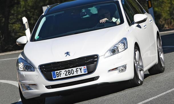 Peugeot 508 SW GT im Test der AUTO ZEITUNG