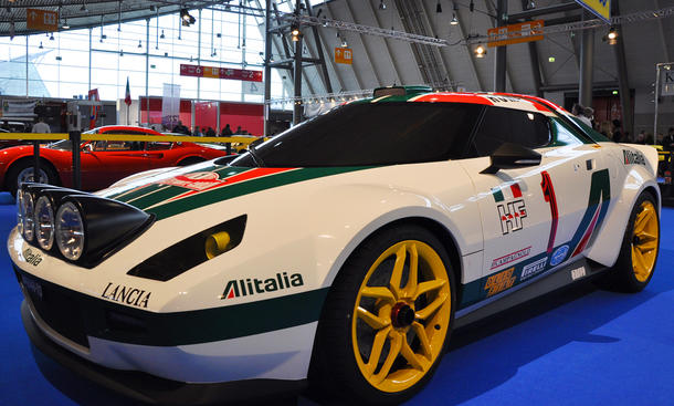Der New Stratos, ein Highlight der Retro Classics 2011 Stuttgart