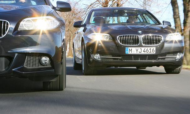 BMW 535d 535i Vergleich