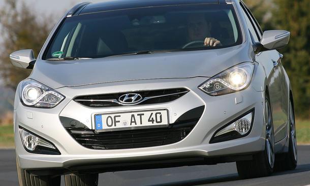 Der neue Hyundai i40 1.7 CRDi im Fahrbericht der AUTO ZEITUNG