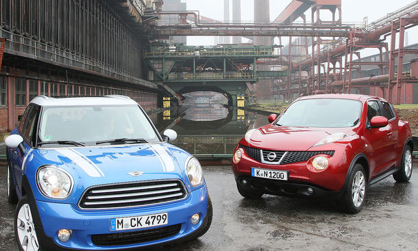 Kompakt-SUV im Vergleichstest der AUTO ZEITUNG