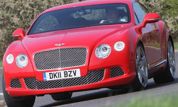 Bentley Continental GT im Test der AUTO ZEITUNG