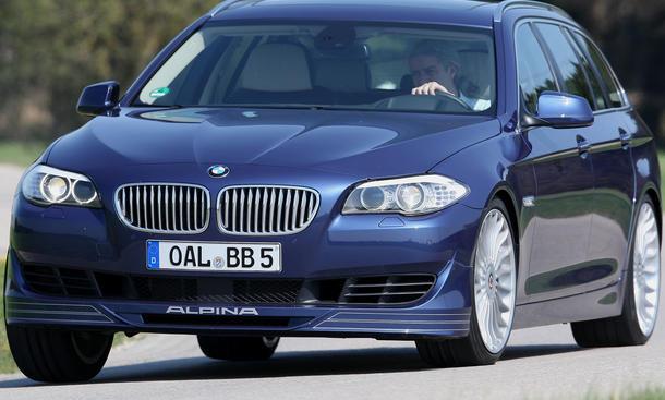 BMW Alpina B5 Biturbo Touring  im Fahrbericht der AUTO ZEITUNG