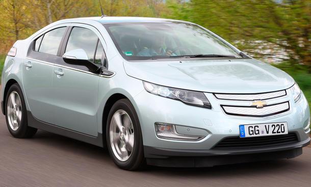 Chevrolet Volt im ersten Fahrbericht der AUTO ZEITUNG
