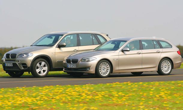 Bmw X5 Xdrive 30d Und Bmw 530d Touring Im Vergleichstest