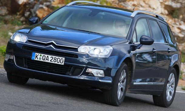 Spulte im Dienst der Redaktion bisher 75.000 Kilometer ab: Citroën C5 Tourer