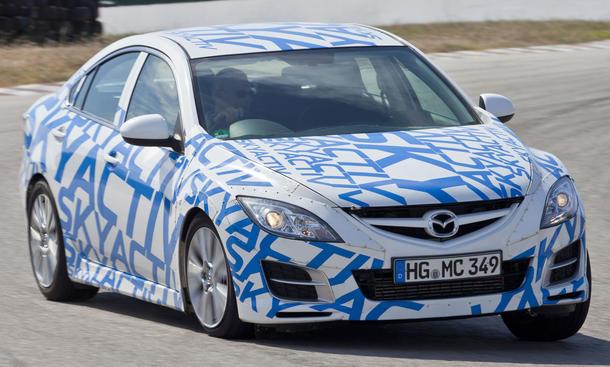 Mazda 6 Skyactiv im Fahrbericht der AUTO ZEITUNG