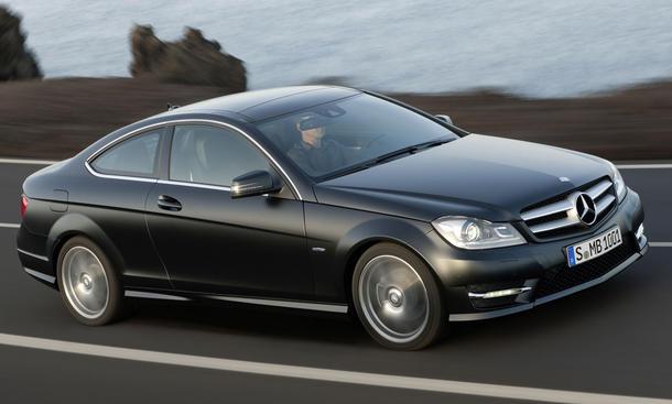 Mercedes C 250 BlueEFFICIENCY Coupé im Test der AUTO ZEITUNG