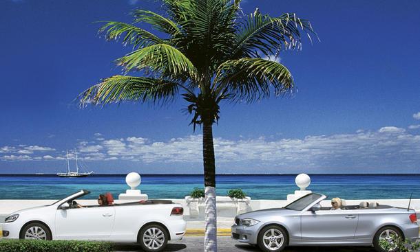 BMW 1er und VW Golf im Cabrio-Vergleich