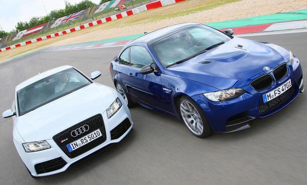 Sportcoupés im Test: Audi RS5 und BMW M3 Coupé