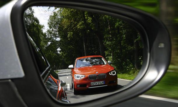 BMW 120d und VW Golf GTD im Vergleichstest