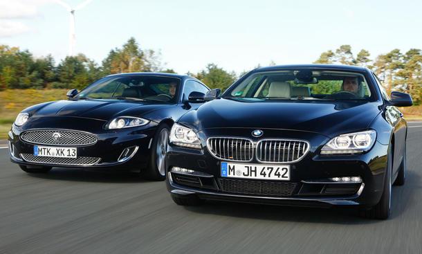 BMW 650i gegen Jaguar XK 5.0 Im Test