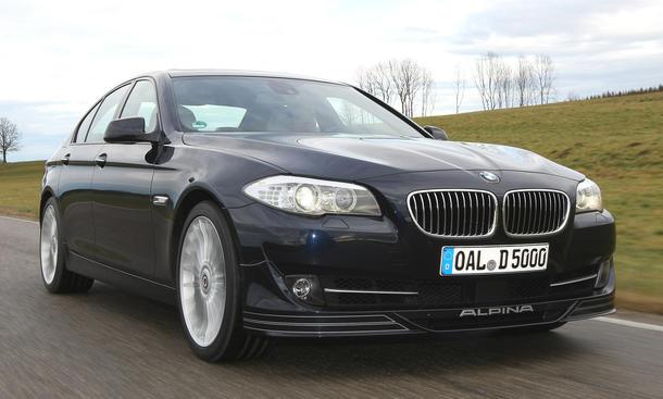 BMW Alpina D5 Biturbo Fahrbericht
