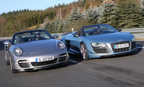 Supersport-Cabrios im Vergleich
