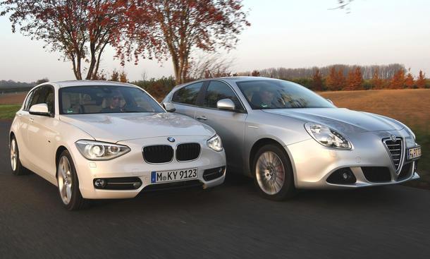 Kompaktklasse Vergleich Test Alfa Romeo Giulietta BMW 1er
