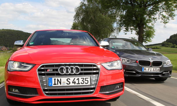 Mittelklasse-Sportler: Audi S4 und BMW 335i im Vergleich
