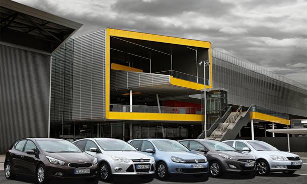 Kompaktklasse Vergleich Kia Cee'd VW Golf Skoda Octavia Hyundai i30 Ford Focus