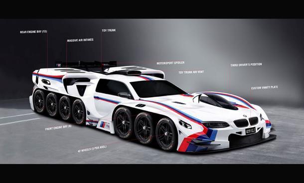 BMW 4219Eli: Verrückte Photoshop-Studie für kleinen Jungen