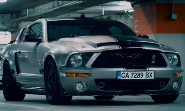 Film-Trailer Getaway 2013: Hauptrolle für Shelby GT500