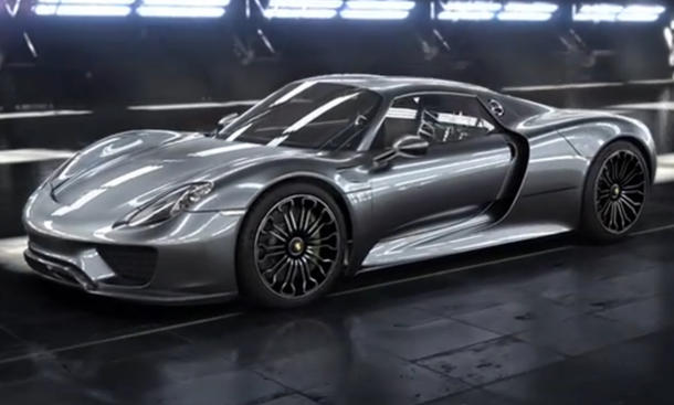 Video: Porsche 918 Spyder Weissach