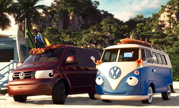 VW-Werbung: Video-Comic im Cars-Stil fordert Auto-Pflege