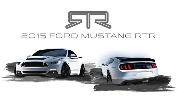 Ford Mustang 2015 RTR: Sportliche Anbauteile vom Drift-Weltmeister