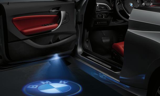 BMW LED-Türprojektor: Aussteigen mit großem Kino