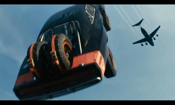 Video: Fliegende Autos bei Fast and Furious 7