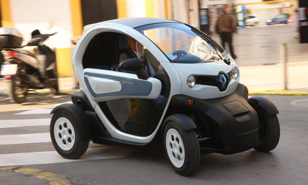 Renault Twizy 45: In Frankreich schon ab 14 Jahren