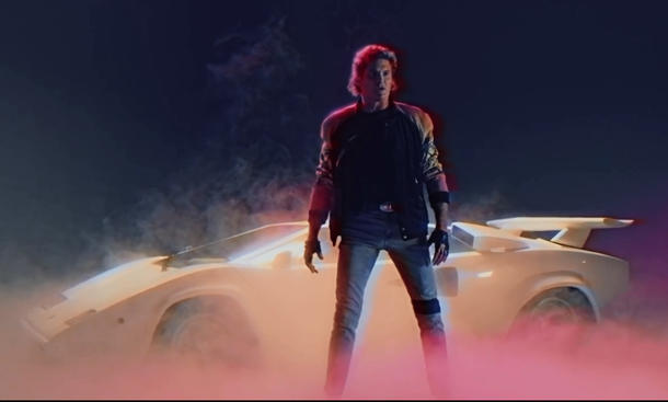 David Hasselhoff und sein Lamborghini Countach: True Survivor / © Youtube