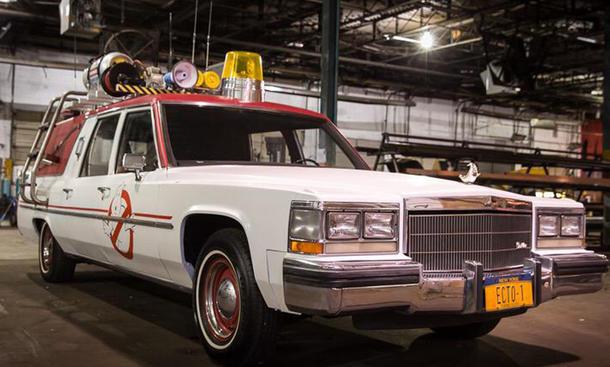 Einsatzfahrzeug für Ghostbusters 3: der neue Ecto-1 / Quelle: @ Twitter/paulfeig
