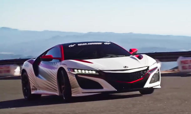 Video: Acura NSX als Safety Car beim Pikes Peak 2015