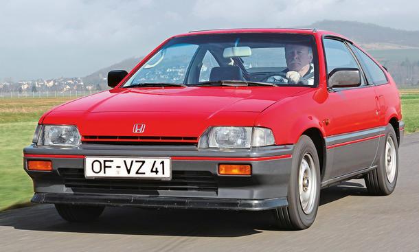 Honda Civic CRX 1.5i: Classic Cars