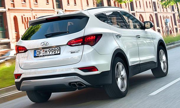 Hyundai Santa Fe Facelift (2015)
