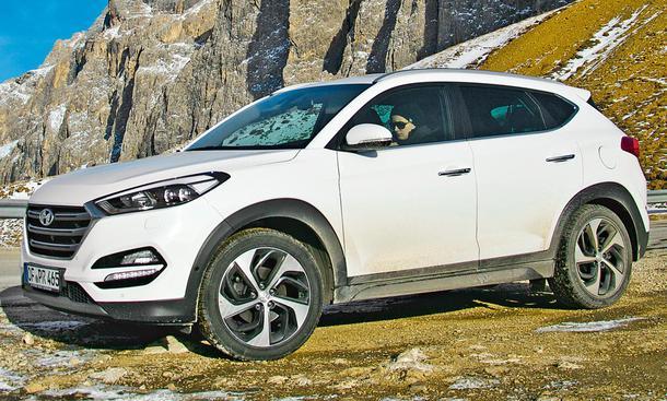 Hyundai Tucson 2.0 CRDi 4WD