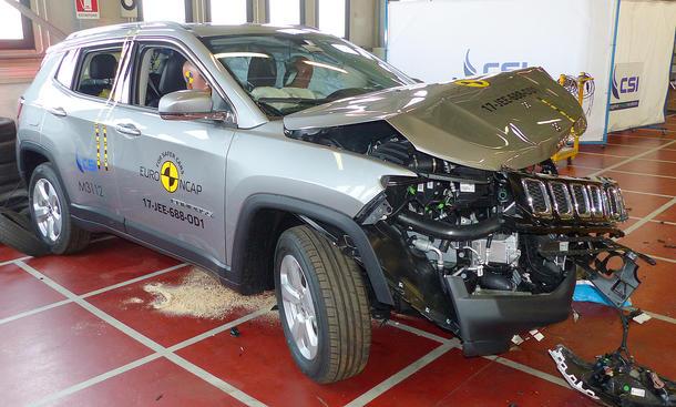 Jeep Compass im Crashtest