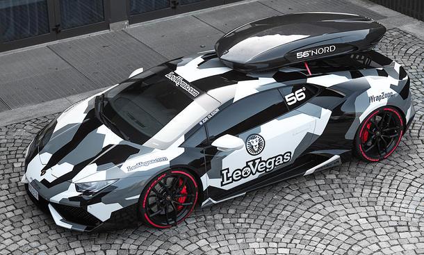 Jon Olssons Lamborghini Huracán