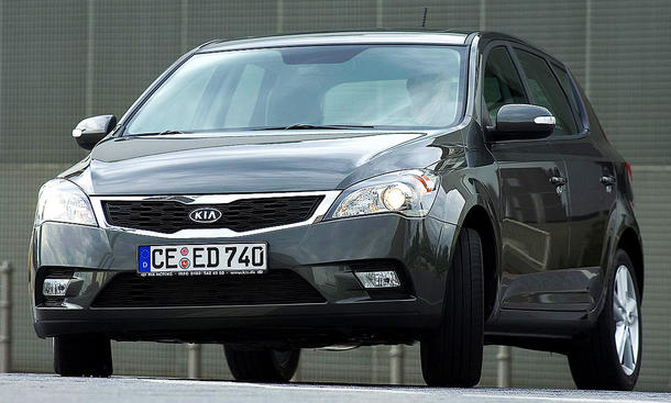 Kia Cee'd Facelift (2009)