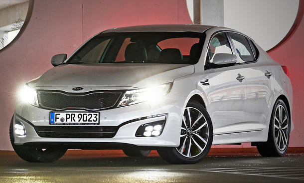 Kia Optima Facelift 2013