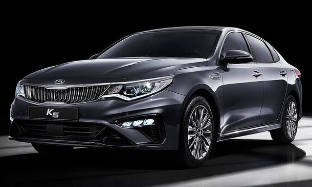 Kia Optima Facelift (2018)