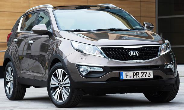 Kia Sportage Facelift (2014)